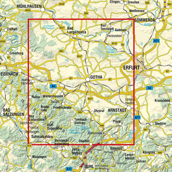 Landkreis Gotha Karte.Landkreis Gotha Reiss Und Wetterfest